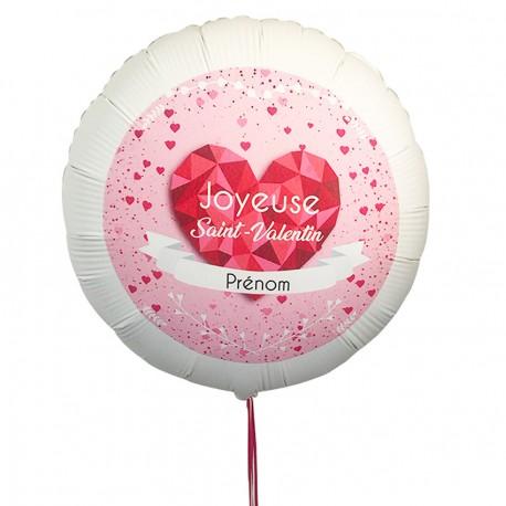 Ballon personnalisé Saint-Valentin