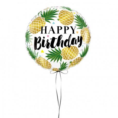 Ballon Anniversaire Ananas