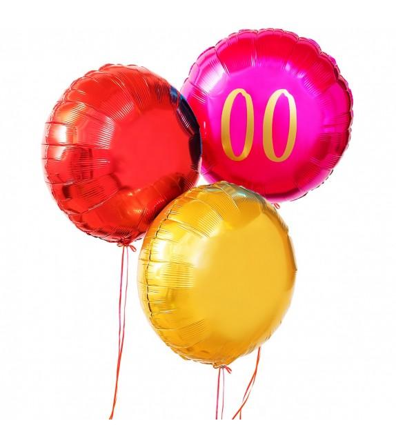 Ballons Anniversaire Girly personnalisés