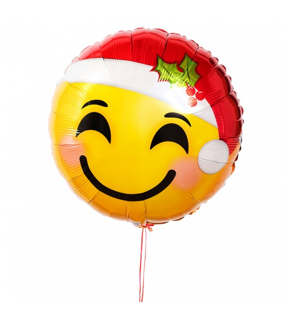 Ballon Smiley Noël