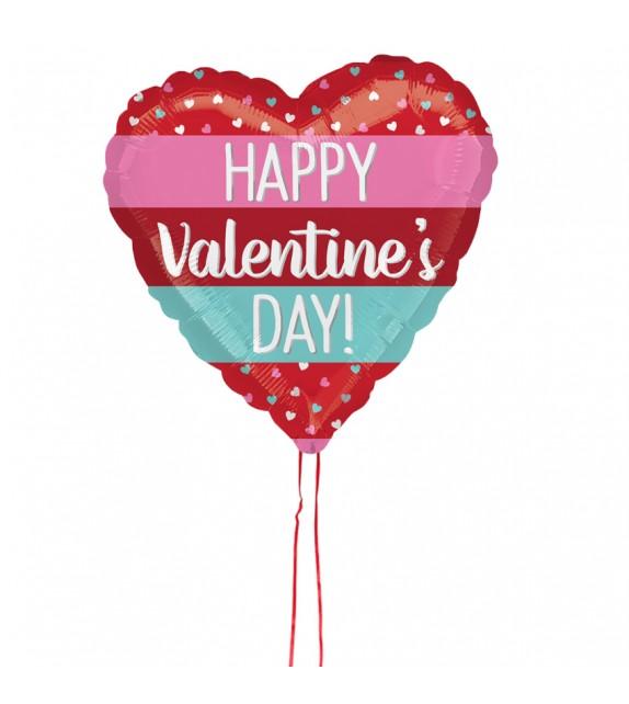 Ballon coeur Saint-Valentin