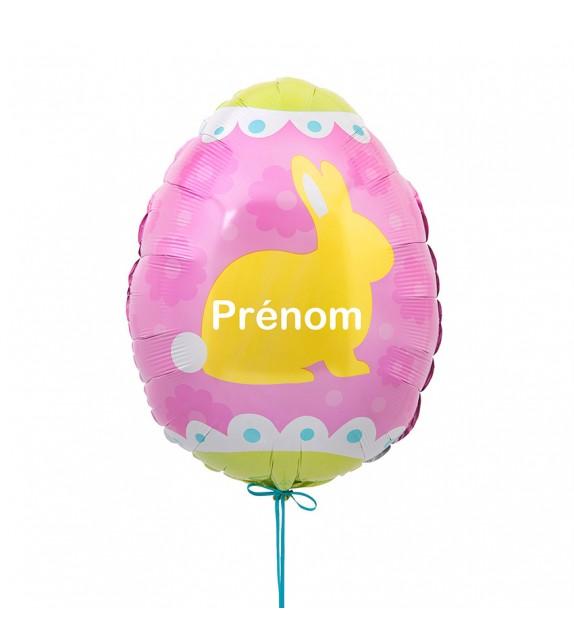 Ballon lapin de Pâques