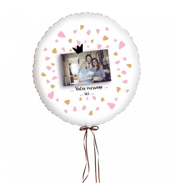 "Ballon personnalisé ""Coeurs"""