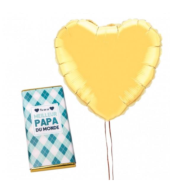 Ballon et Chocolat Fête des Pères