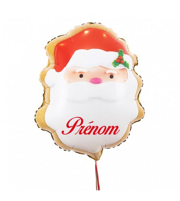 Ballon de Noël personnalisé avec votre message