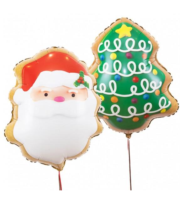 Duo de Ballons Noël