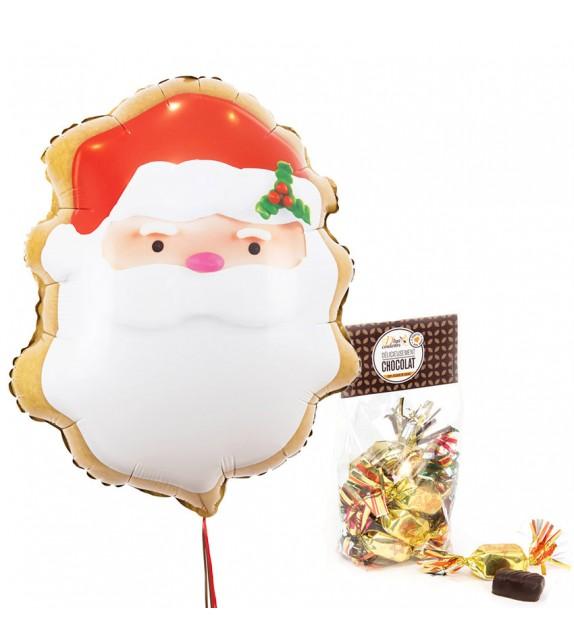 Ballon Noël et Chocolat