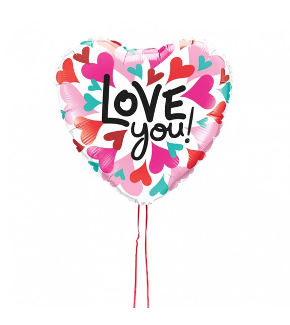"Ballon coeur ""love"""