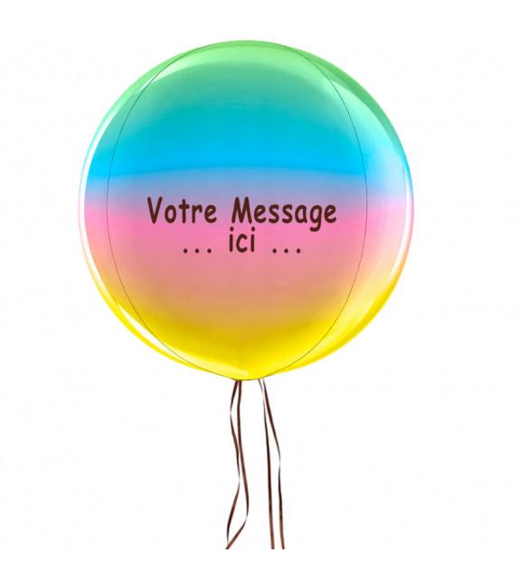 livraison ballon personnalisé
