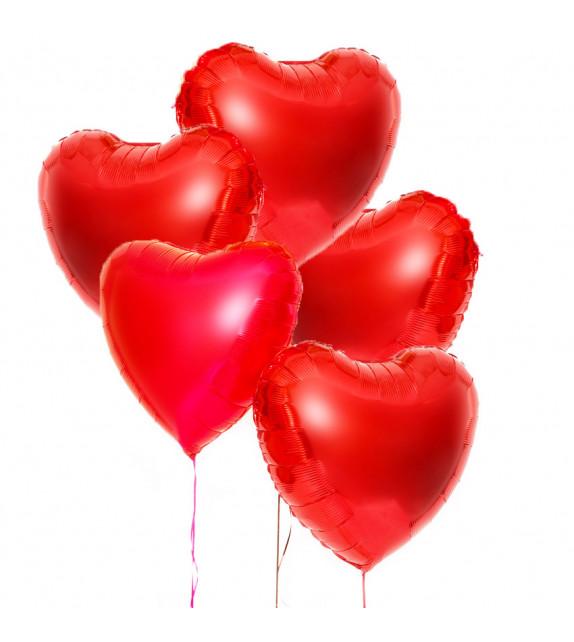 Bouquet de Ballons coeurs