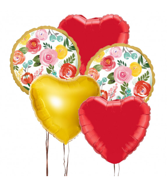 Bouquet ballons fête des meres