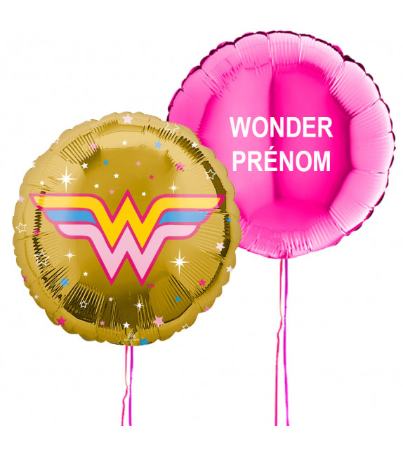 Bouquet de ballons Wonder Woman