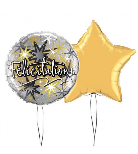 bouquet Ballons Félicitations