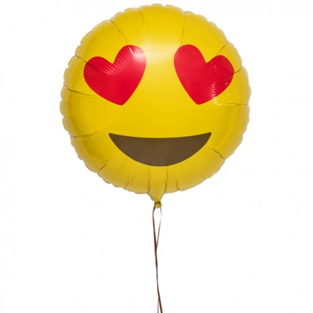 Livraison ballon Emoji love