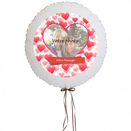 """Ballon personnalisé """"Amitiés et Amour"""""""