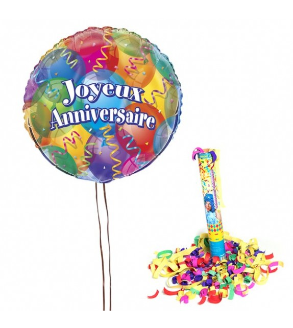 livraison ballon anniversaire