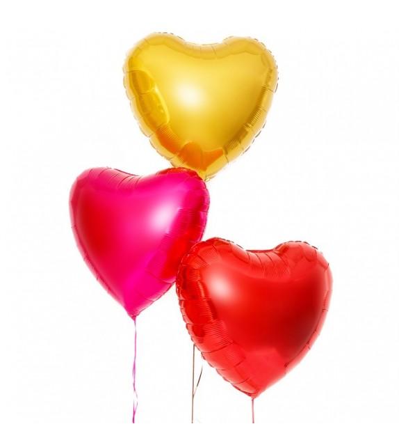 livraison ballons coeurs